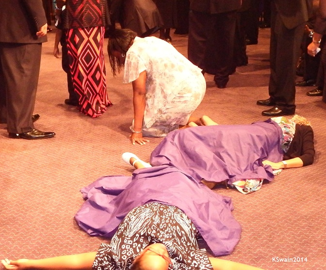 The Art And Science Of Falling Down In Church