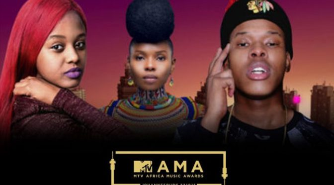 Nasty C, Yemi Alade & Babes Wodumo To Light Up The Stage At The MTV Africa Music Awards 2016