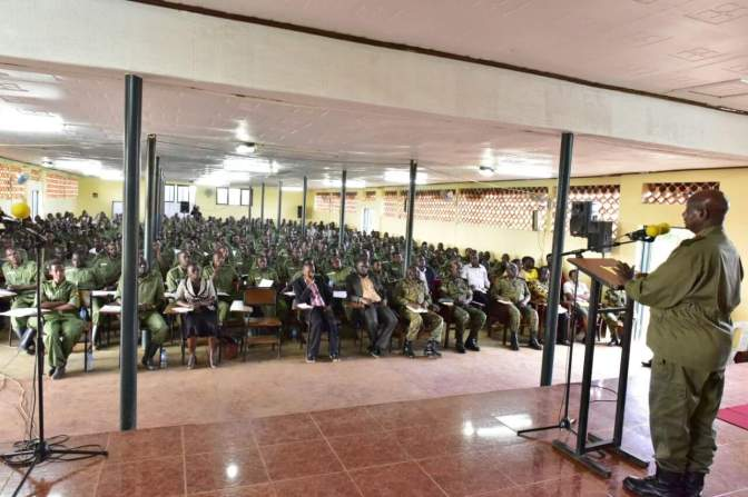 President Museveni Addresses NRM Youth Cadres At Kyankwanzi