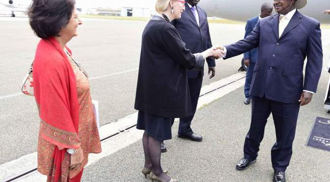 President Museveni Arrives In France For A Two-Day Working Visit