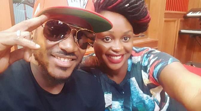 Rema Namakula Cozies Up To 2Face Idibia In Nairobi