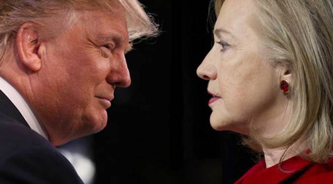 Donald Trump And Hillary Clinton Face Off In First Presidential Debate