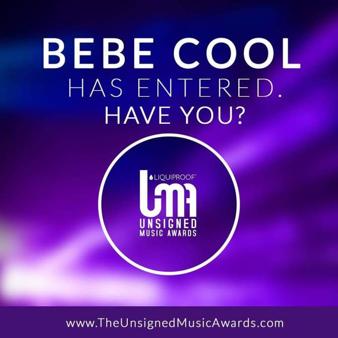 Bebe Cool Secures Another Big-Award Nomination