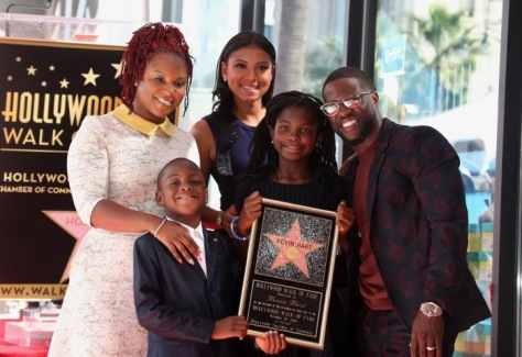 Hollywood Walk of Fame star ceremony for Kevin Hart