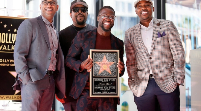 Kevin Hart Honored With Star On Hollywood Walk Of Fame