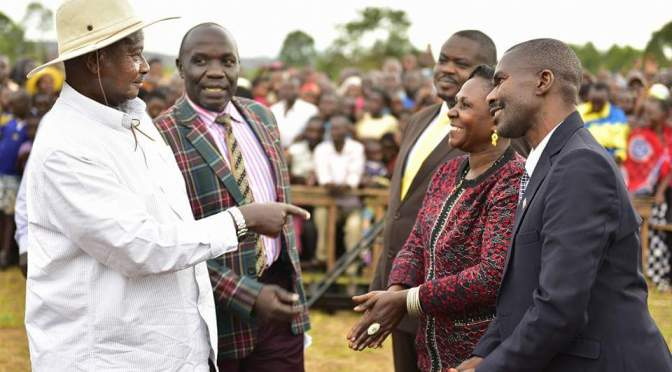 President Museveni Visits Rakai