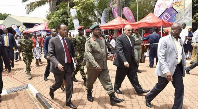 Museveni Opens 24th Uganda Trade Fair