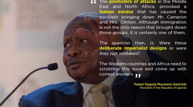 "President Museveni Pens Article On Casualties Of Western ""Neo-Imperialism"" And African Weakness"