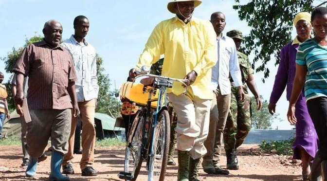 Museveni In Luwero