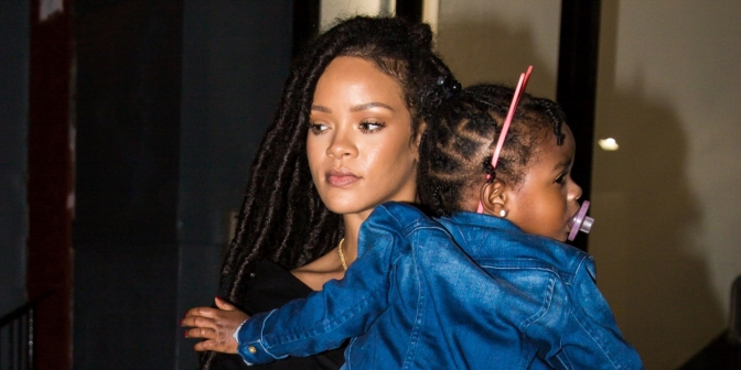 """Rihanna Takes A Break From Her World Tour To """"Go Home"""" Babysit Her Niece"""
