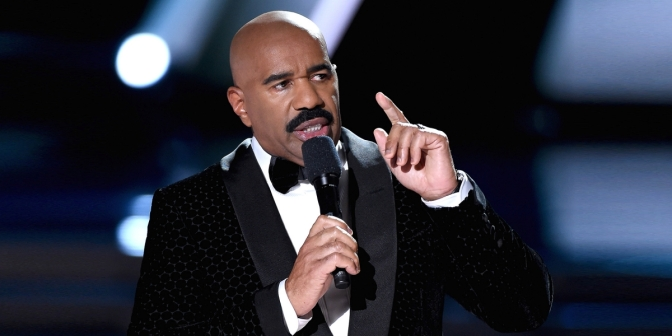 Steve Harvey Fights Back Against Accusations Of Being Racist