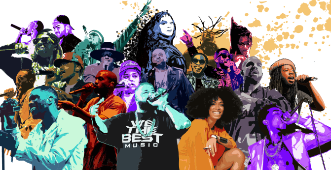 BET Names The Most Popular Musicians 'That Stole The Show' In 2016