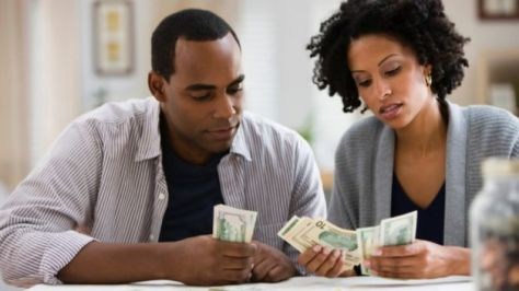 black-couple-money