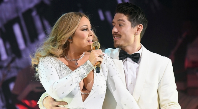 Mariah Carey's New Catch Is A Cute Dancer And He's Beside Himself With Infatuation