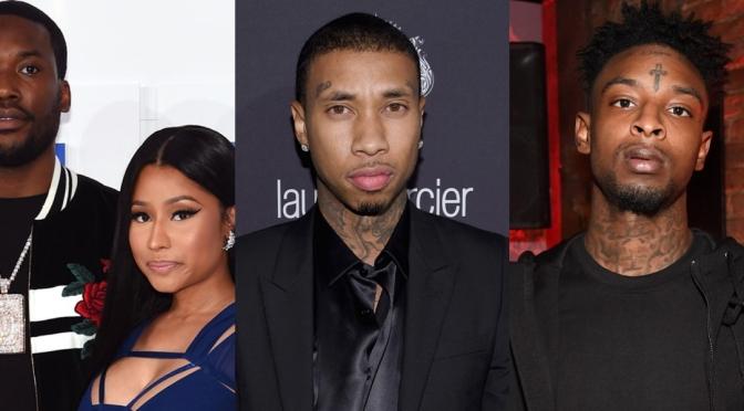 Nicki Minaj & Celebs Join The Fun In The Tyga and 21 Savage Beef