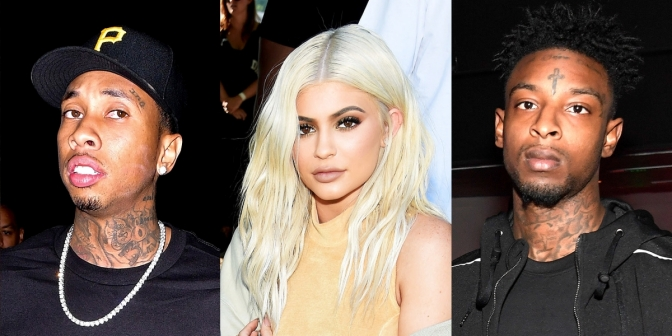 """Rappers Tyga and 21 Savage Are in A Severe """"Beef"""" Over Kylie Jenner"""