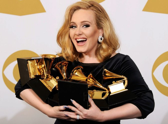 Adele Will Perform At The 59th Grammy Awards