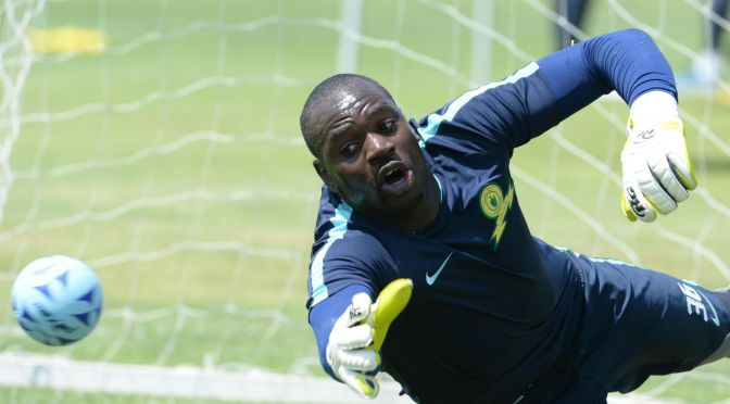 Uganda's Dennis Onyango Crowned King Of African Football At The GLO CAF AWARDS