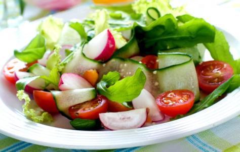 garlic-salad