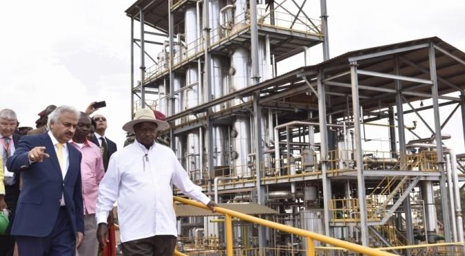 President Museveni Commissions Ethanol Plant