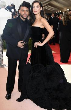 The Weeknd and Bella Hadid split about two months ago. Picture: Larry Busacca/Getty ImagesSource:Getty Images