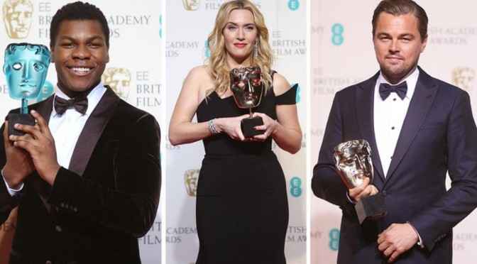 70th British Academy Film Awards: See The Full List Of Winners
