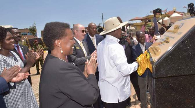 President Museveni  Commissions African Gold Refinery In Entebbe, Wakiso District