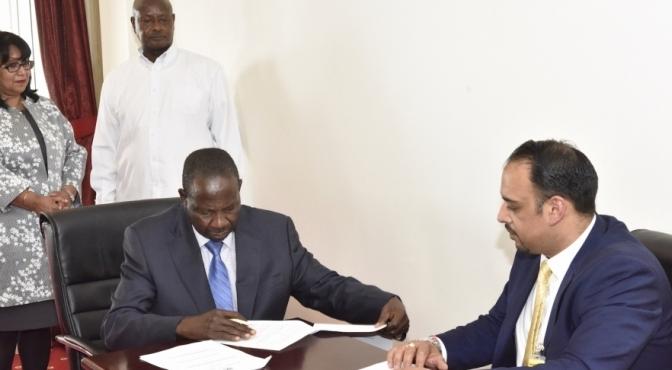 Uganda, UK's Nexus Green Sign MOU On Solar Water Pumps