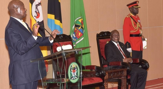 President Museveni On A State Visit To Tanzania