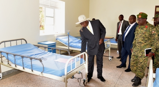 President Museveni Commissions Multimillion Military Medical Facility