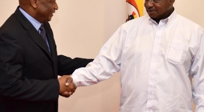 President Receives World Bank Executive Director