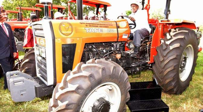President Museveni Launches Pasture Improvement Program
