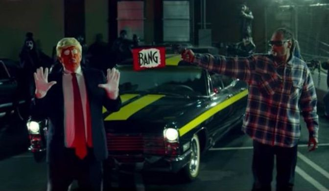 New Snoop Dogg Music Video Is Causing Panic Among Donald Trump Supporters