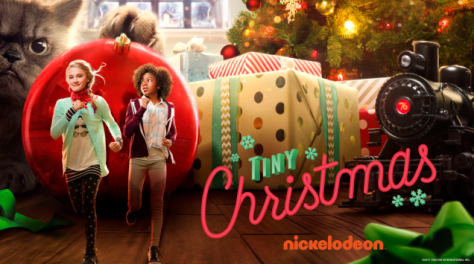 Lizzy Greene And RieleDowns-Nickelodeon-Original-Holiday-Movie-Nick-Film-Logo