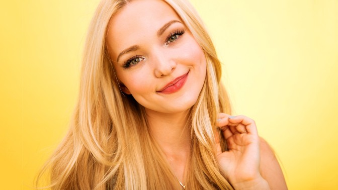 """Disney's Dove Cameron Fires Back To An Instagram Racist About The Golden Globes Message, """"Time's Up"""""""