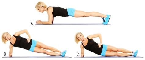 Rolling-Side-Plank Crunch