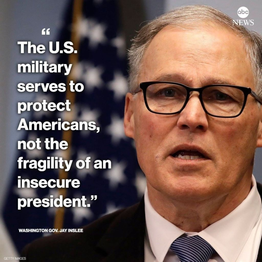 Gov. Jay Inslee To President Trump: You Are An Insecure President