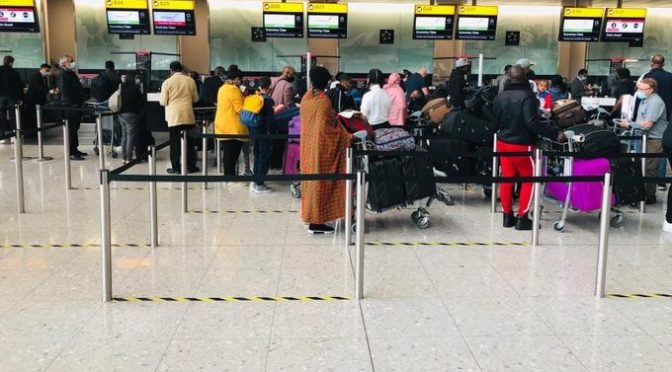 Ugandans Stranded In United Kingdom Returning Home
